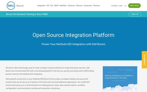 NetSuite EDI Integration - Dell Boomi