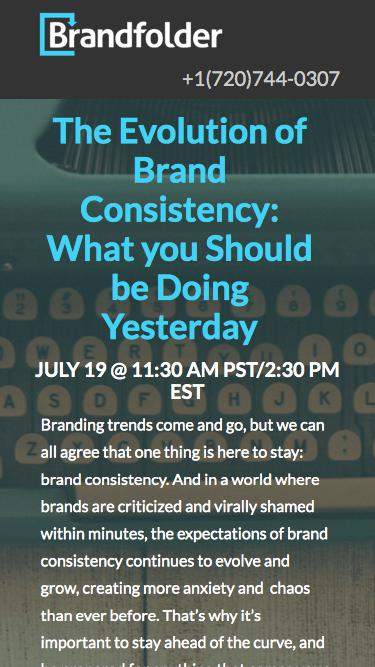 [Live Webinar] The Evolution of Brand Consistency: What You Should be Doing Yesterday