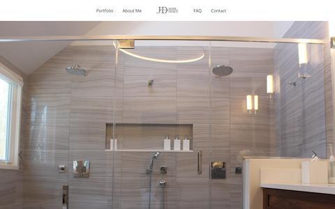 Screenshot of Home Page jdhomedesign.com - JD Home Design - captured July 13, 2018