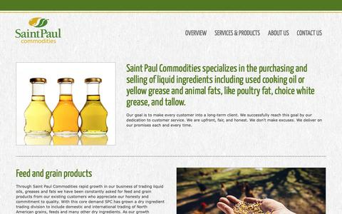 Screenshot of Support Page stpaulcommodities.com - Saint Paul Commodities - captured Dec. 17, 2018