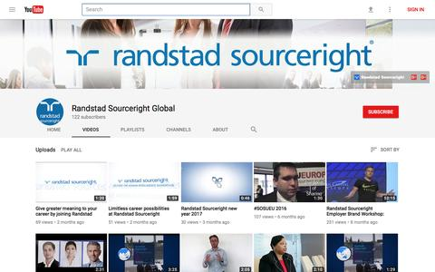 Randstad Sourceright Global - YouTube