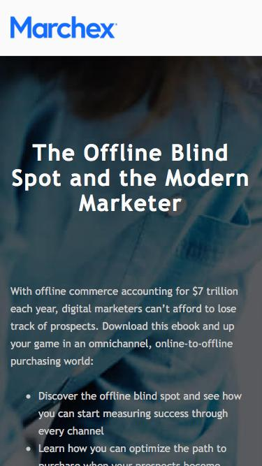 Marchex - The Offline Blind Spot and the Modern Marketer