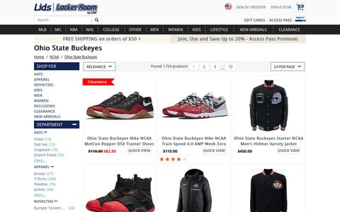Ohio State Gear, Ohio State Store, Buckeyes Store | lids.com