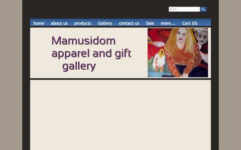 Screenshot of Blog mamusidom.com - blog - Mamusidom - captured Sept. 30, 2014