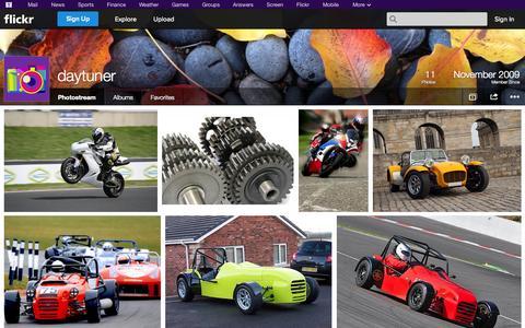 Screenshot of Flickr Page flickr.com - Flickr: daytuner's Photostream - captured Oct. 23, 2014