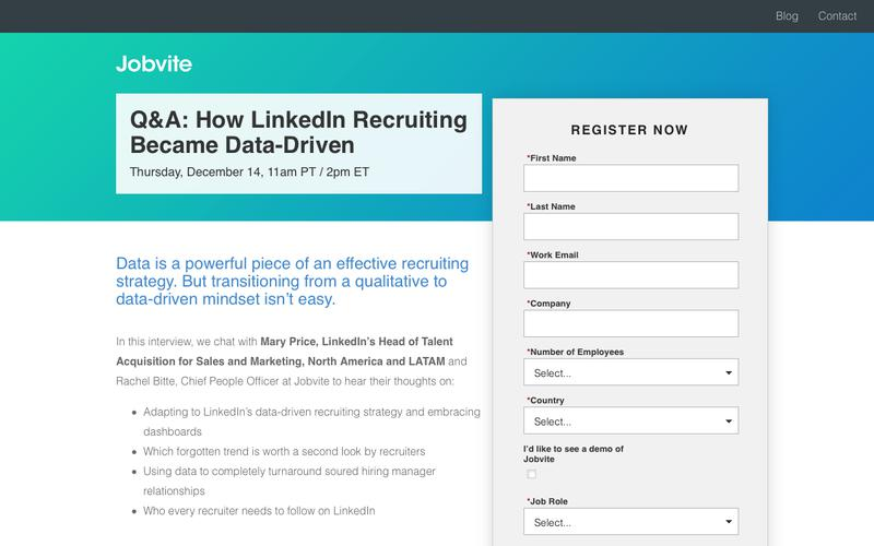 [Webinar] Q&A with LinkedIn's Mary Price