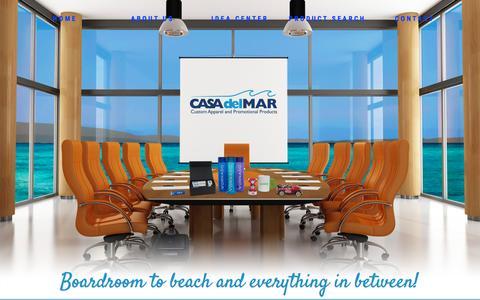 Screenshot of Testimonials Page casadm.com - Testimonials | Casa del Mar - captured Jan. 26, 2016