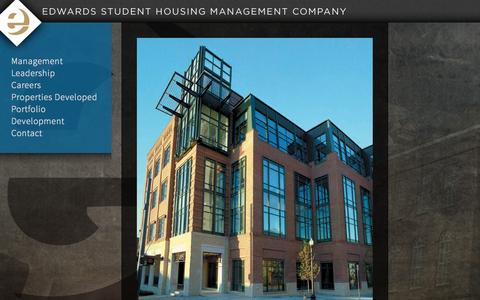 Screenshot of Terms Page edwardsstudenthousing.com - Edwards Student Housing - captured Oct. 2, 2014