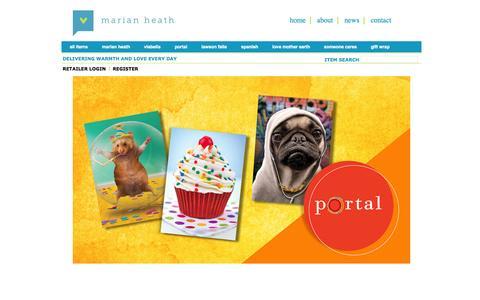 Screenshot of Terms Page marianheath.com - Marian Heath Greeting Cards - captured Oct. 27, 2014