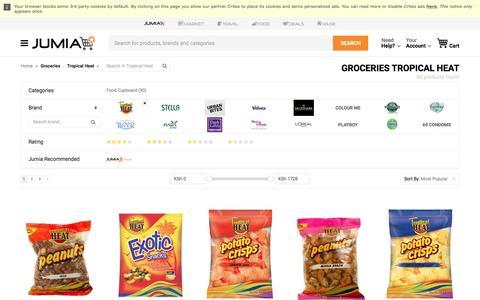 Tropical Heat Groceries - Buy online | Jumia Kenya