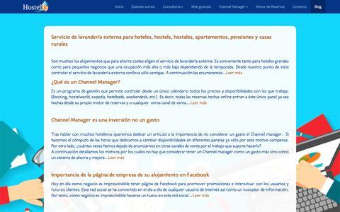 Screenshot of Blog hostelup.es - Hostel Up - Blog - captured Nov. 12, 2016