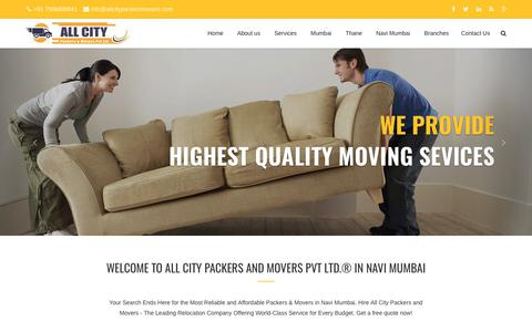 Packers and Movers in Navi Mumbai - All City Packers and Movers Pvt Ltd.®