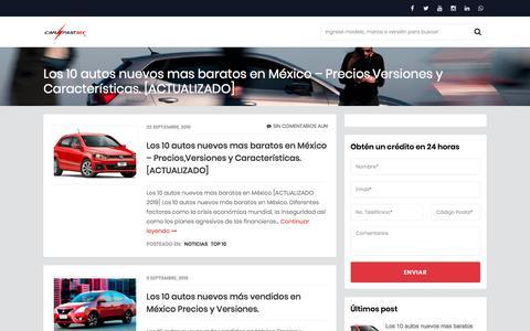 Screenshot of Blog carfast.mx - Blog - - captured Oct. 8, 2019