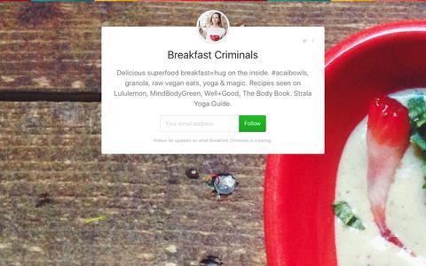 Screenshot of gumroad.com - Breakfast Criminals on Gumroad - captured Aug. 17, 2016