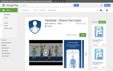 PainScale - Chronic Pain Coach - Android Apps on Google Play
