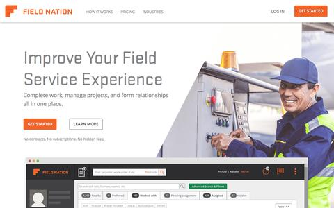 Field Nation Connects Businesses with On-Site, On-Demand Technicians