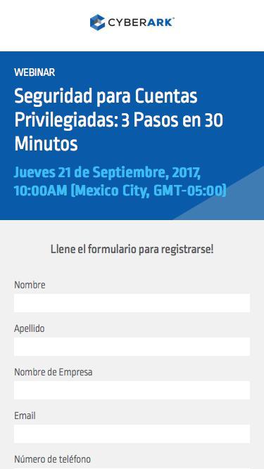 3 Steps in 30 Minutes Webinar Registration