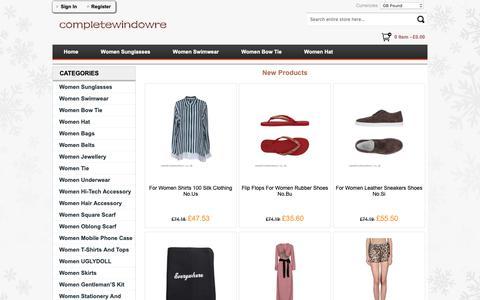 Screenshot of Home Page keystrategy.co.uk - 2018 UK Sale Online Store Men's Women Sunglasses,Women Flip Flops - Keystrategy.co.uk - captured Oct. 15, 2018