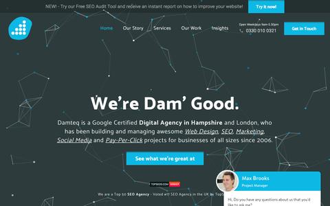 Local Web Design & SEO Marketing Agency in Hampshire & London.