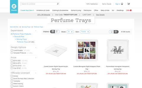 Perfume Trays | Zazzle