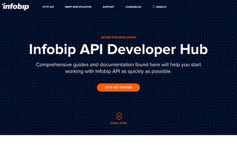 Infobip API developer Hub