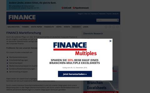 Marktforschung-FINANCE Magazin