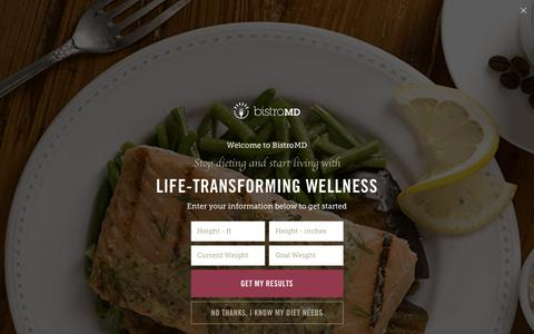 Screenshot of Contact Page bistromd.com - Contact Us | bistroMD - captured May 16, 2019