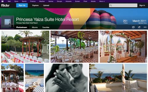 Screenshot of Flickr Page flickr.com - Flickr: Princesa Yaiza Suite Hotel Resort's Photostream - captured Oct. 23, 2014