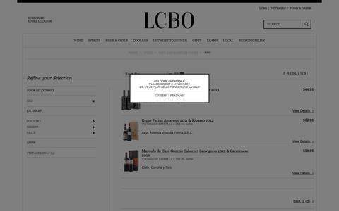 Red | LCBO