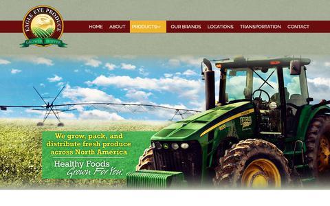 Screenshot of Products Page eagleeyeproduce.com - Year-Round Programs of Premium Fresh Produce - captured Nov. 4, 2018