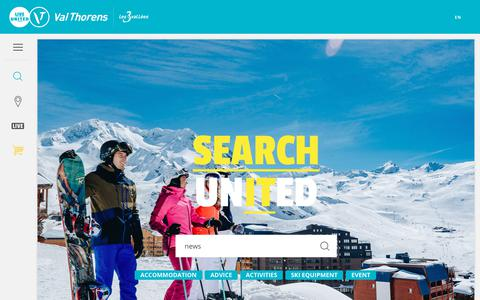 Screenshot of Press Page valthorens.com - Search - captured May 30, 2019