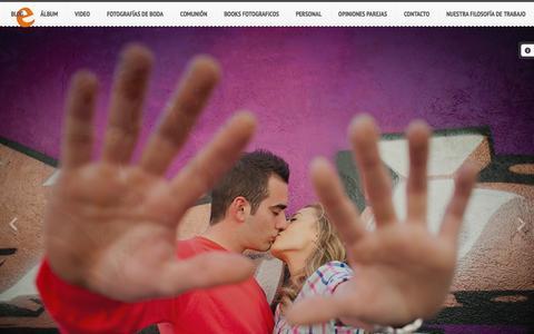 Screenshot of Blog emozione.es - emozione » Emozione - captured Oct. 2, 2014