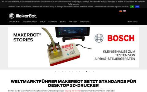 Makerbot 3d-Drucker: Weltmarktführer setzt Standards für Desktop 3D-Drucker