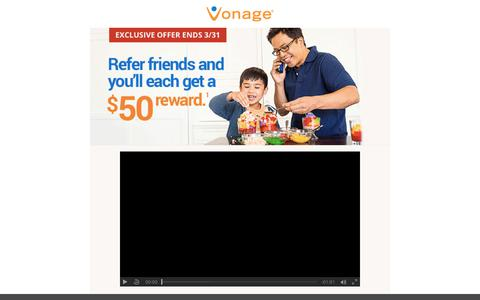 Vonage Referral Program