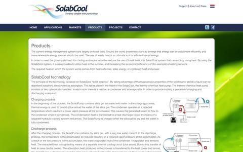 Screenshot of Products Page solabcool.com - Solabcool.com - captured Oct. 6, 2014