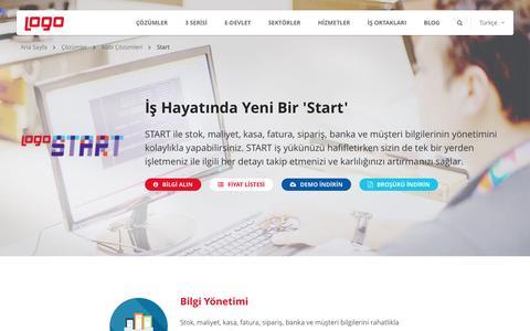 Start | Kobi Çözümleri | Logo Yazılım