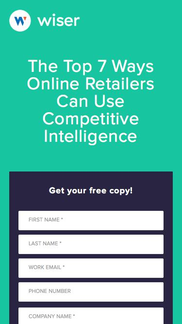 The Top 7 Ways Online Retailers Can Use Competitive Intelligence to Drive Value