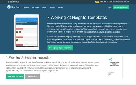 Screenshot of Jobs Page safetyculture.com - 7 Working At Heights Risk Assessment Templates [Free Download] - captured April 23, 2019