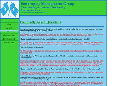 Screenshot of About Page bmgpllc.com - About Us - captured Oct. 5, 2014