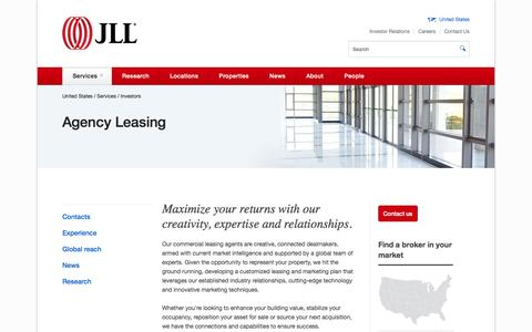 Commercial leasing agents | JLL