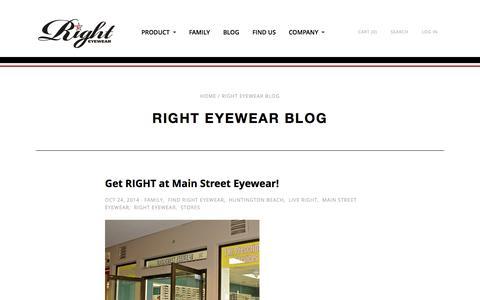Right Eyewear Blog | Right Eyewear - Sunglasses and Apparel