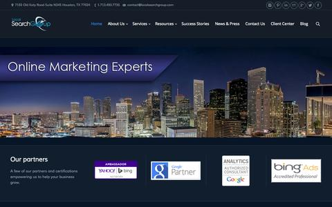 Local Search Group | Online Marketing Company - Houston