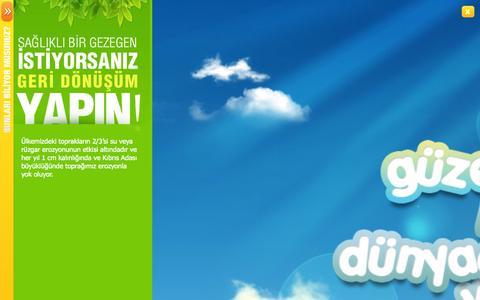 Screenshot of Home Page istac.com.tr - İstaç - captured Oct. 6, 2014