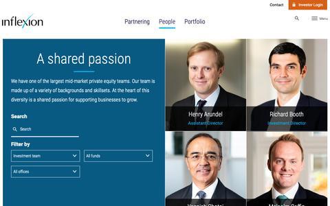 Screenshot of Team Page inflexion.com - People | Inflexion - captured Dec. 19, 2018