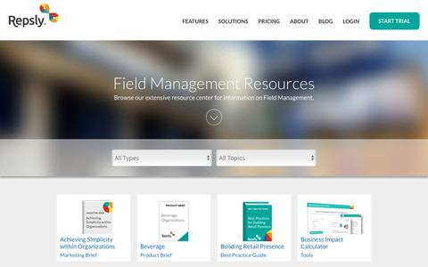 Field Activity Management Resources