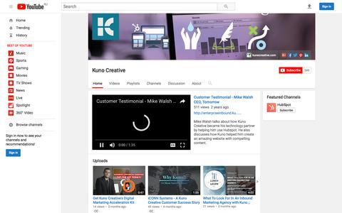 Kuno Creative  - YouTube