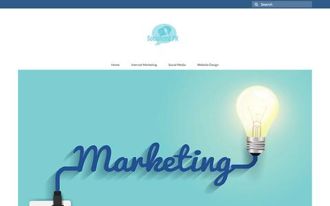 Screenshot of Home Page socializedpr.com - Socialized PR – Best Public Relationship & Social Media Marketing Strategies - captured Oct. 18, 2018