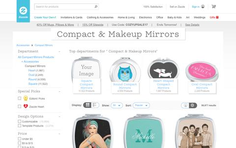 Compact & Makeup Mirrors | Zazzle