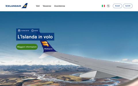Screenshot of Blog icelandair.com - Blog | Icelandair - captured Oct. 22, 2018