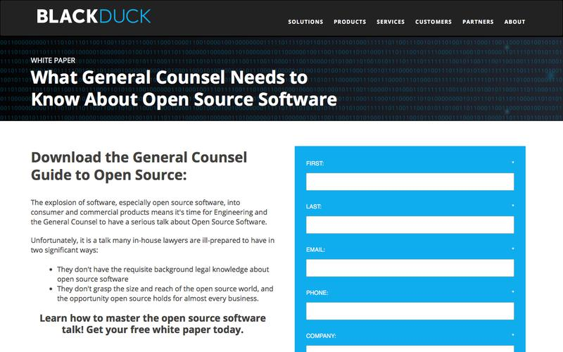 General Counsel & Open Source Software | Black Duck Software